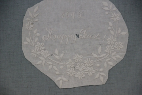 Whitework Embroidery Fragment