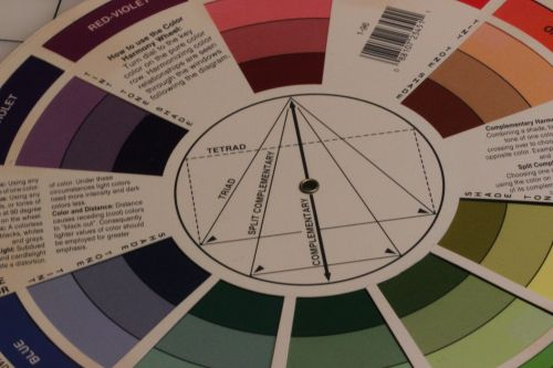Color Wheel for Church Embroidery Floss Selection