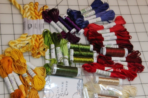 Silk Floss for Easter Set Pulpit Fall