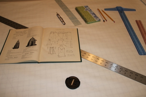 Ecclesiastical Vestment Pattern Book and Tools