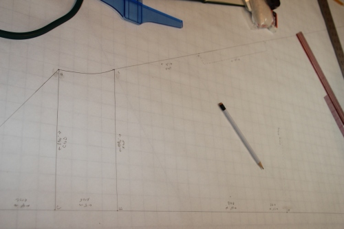 The Ecclesiastical Vestment Pattern in process