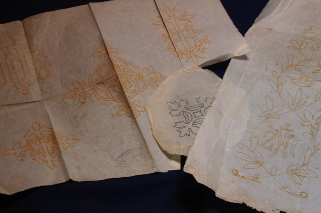 Iron on Ecclesiastical Embroidery Transfers