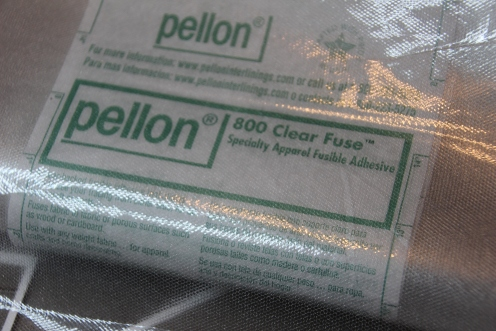 Pellon Clear Fuse for Tracing Design