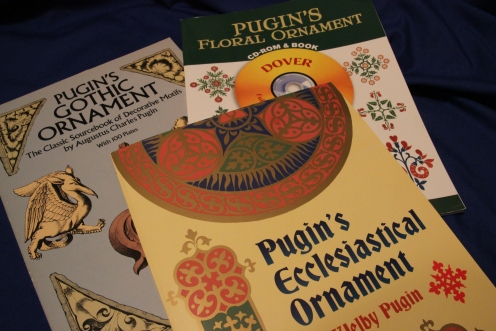 Augustus Pugin Design Books