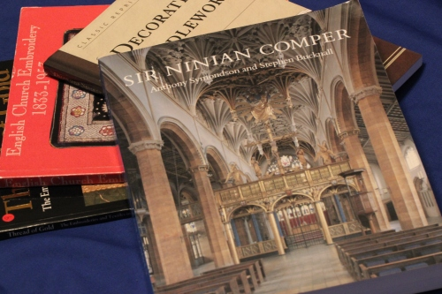 Book entitled Sir Ninian Comper