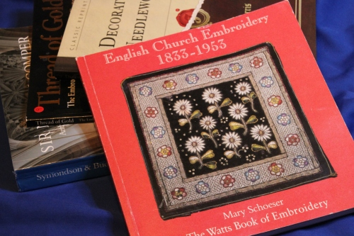 English Church Needlework Watts Book of Embroidery