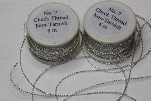 Silver Check Thread