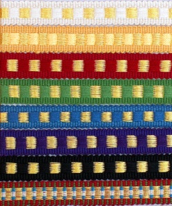 Dice Trim used on Vestments and Altar Hangings