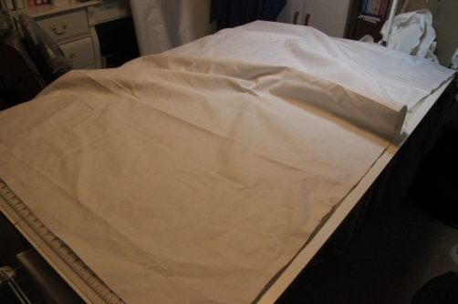 Cotton canvas is used as the interfacing for the Altar Frontal