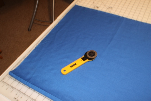 Blue Symphony Broadcloth for Underlining