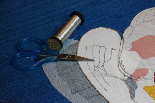 Ecclesaiastical Embroidery Angel Wing Detail