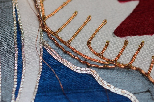 Rococco Thread in Copper