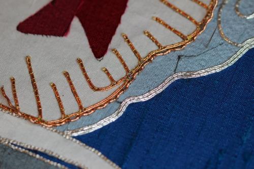 Medium Rococco Thread in Copper