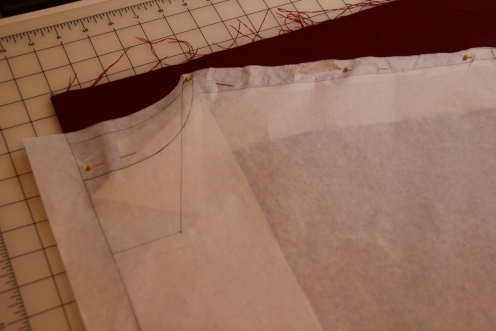 Options for Chasuble Neckline