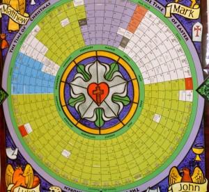Lutheran Liturgical Calendar Wall Chart