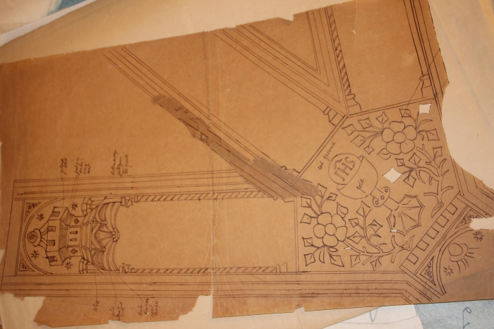 Y shaped Orphrey for Chasuble