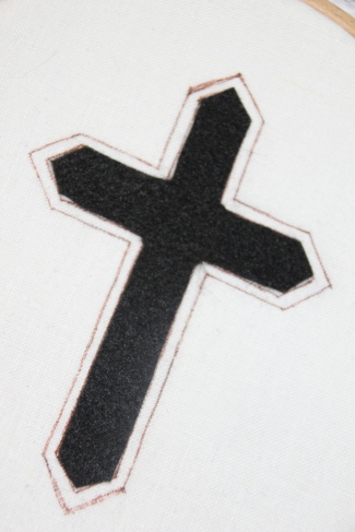 Felt Padding for use on Passion Cross Design