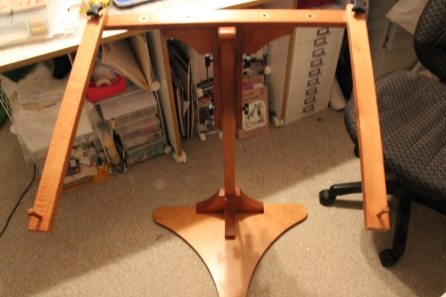 Handmade needlework stand from Just a Thought