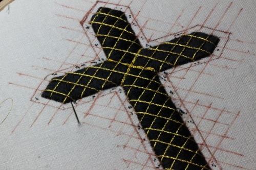 Church Embroidery Passion Cross