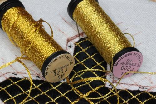 Kreinik Metallic Ribbon and Thread