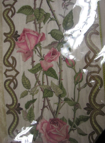 Rose Orphrey from the Rose Vestment Set at Haehn Museum