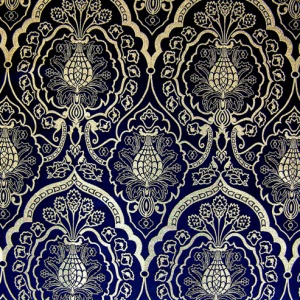 Black and Gold Ecclesiastical Fabric Wakefield