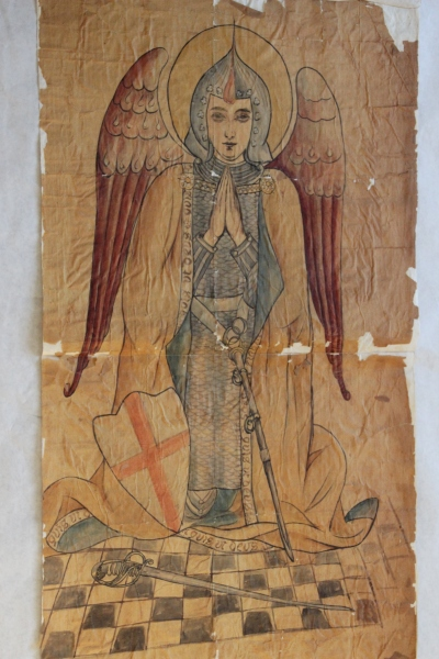 Ecclesiastical Embroidery Design of Archangel