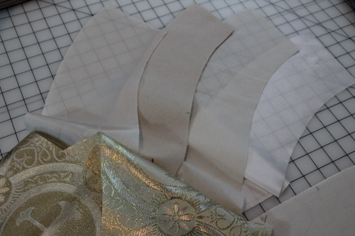 Cutting out Priest or Pastoral Stole