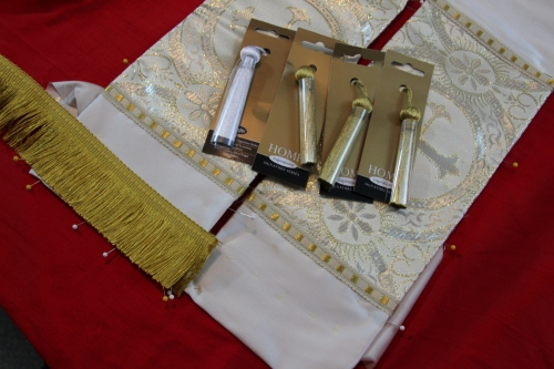 Trims used for Pastoral Stole Ends