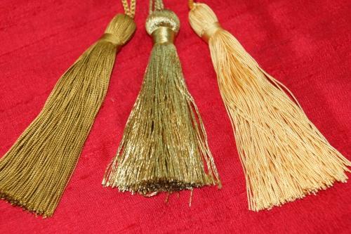 Variations in Gold Tassels