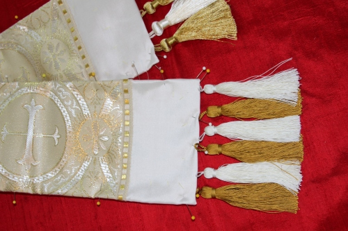 Tassel options for a Pastoral or Priest Stole