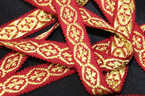 Lansdowne Braid for use on Church Vestments