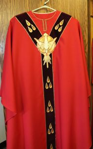 Pentecost Chasuble from O'Fallon, MO