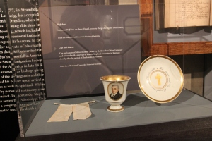 Clergy Collar on display at the International Center, LC-MS, St. Louis, MO