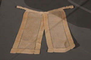 Clergy Collar made from linen 19th Century