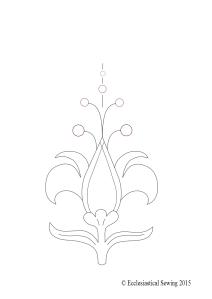 Stylized Fluer de lis Logo