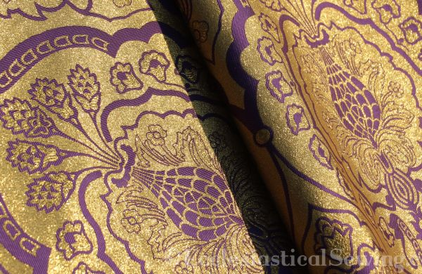 Reversible Church Vestment Fabric