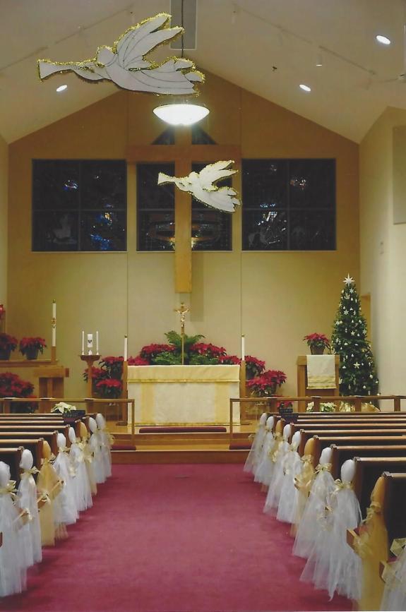 St. Margaret and St. Hubert Altar Frontal
