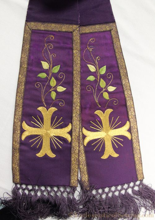 New use for vintage vestments