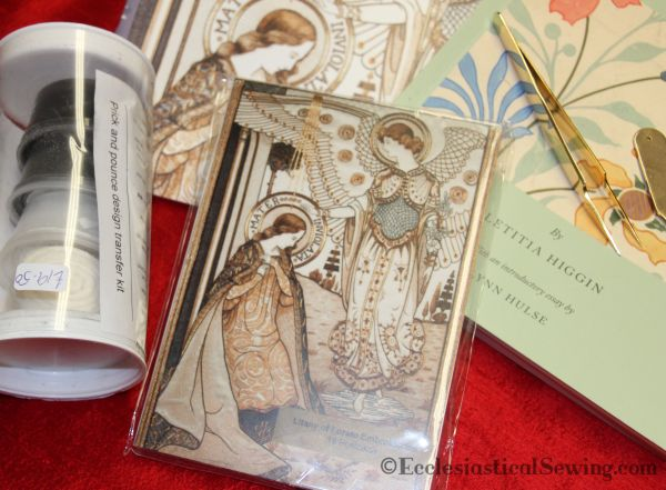 Post Cards of Litany of Loreto Embroideries