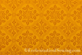 Cloister Liturgical Fabric-Gold