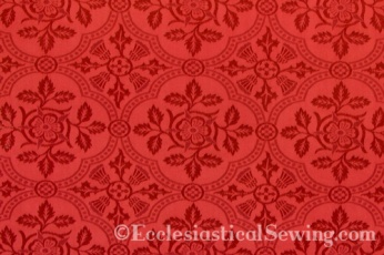 Cloister Liturgical Fabric-Red