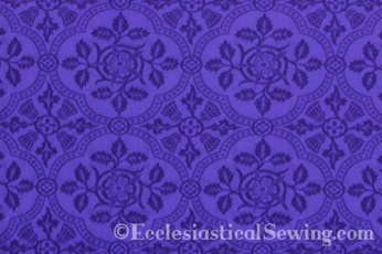 Cloister Liturgical Fabric-Violet