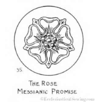 Liturgical Rose Design