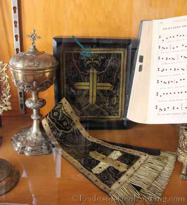 Church Vestments and chalice