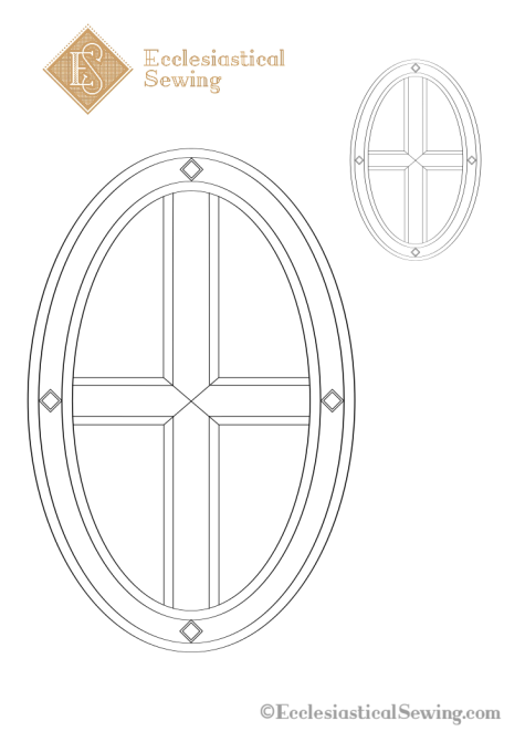 St. Leo Cross Embroidery Design