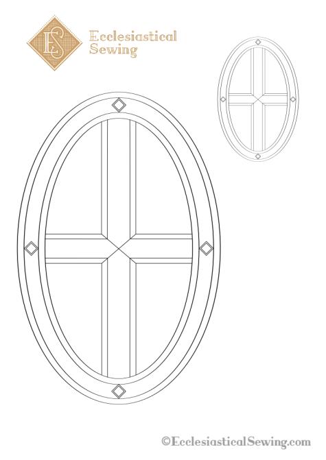 St. Leo Cross Embroidery Design