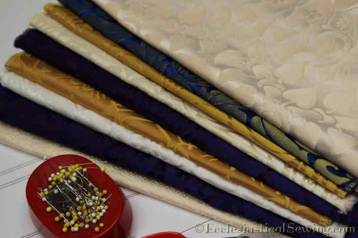 Liturgical Fabric and Patterns for Pastoral Stoles