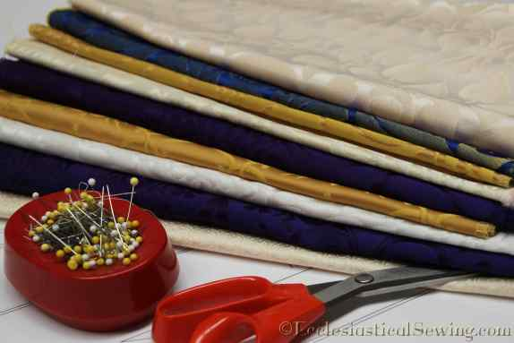 Liturgical Brocade Clergy Stole kits