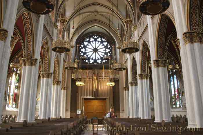 Interior Cathedral of St. Helena MT